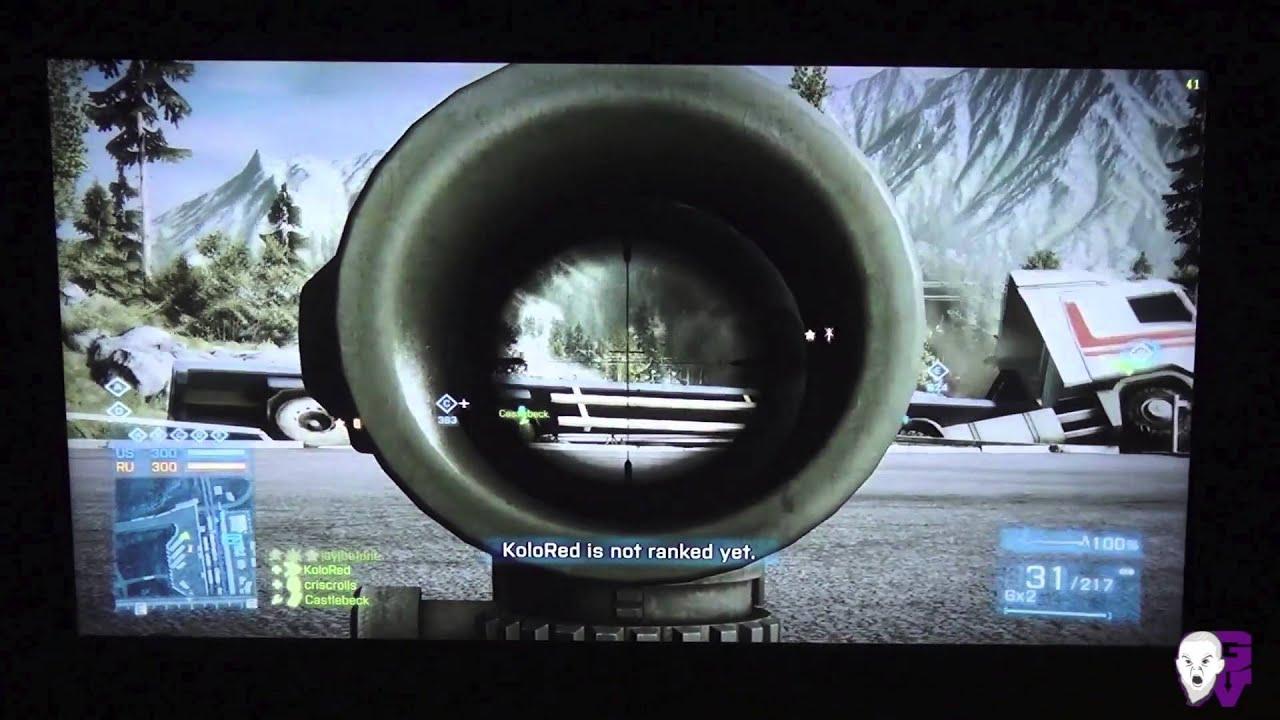Razer Edge Pro running Battlefield 3 Multiplayer