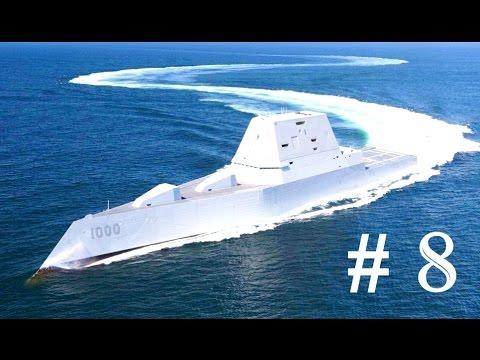 8 เรือพิฆาต ที่ทรงพลังที่สุดในโลก 2017 !! # Most powerful destroyers in the world