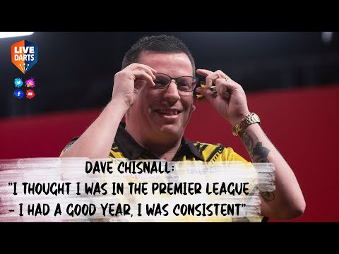 """Dave Chisnall: """"I thought I was in the Premier League – I had a good year, I was consistent"""""""