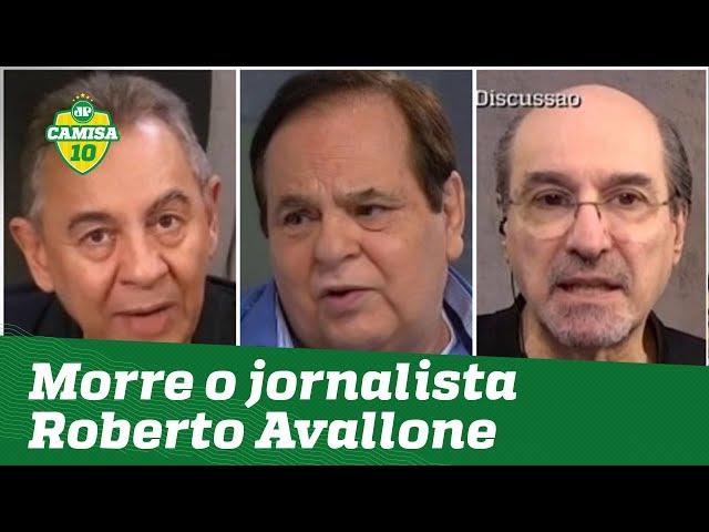 """Vai fazer falta!"" Jornalistas lamentam a morte de Roberto Avallone"
