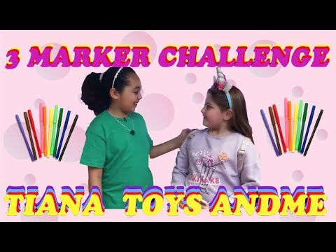 Gelli Baff 3 Marker Challenge Tiana Toys And Me And