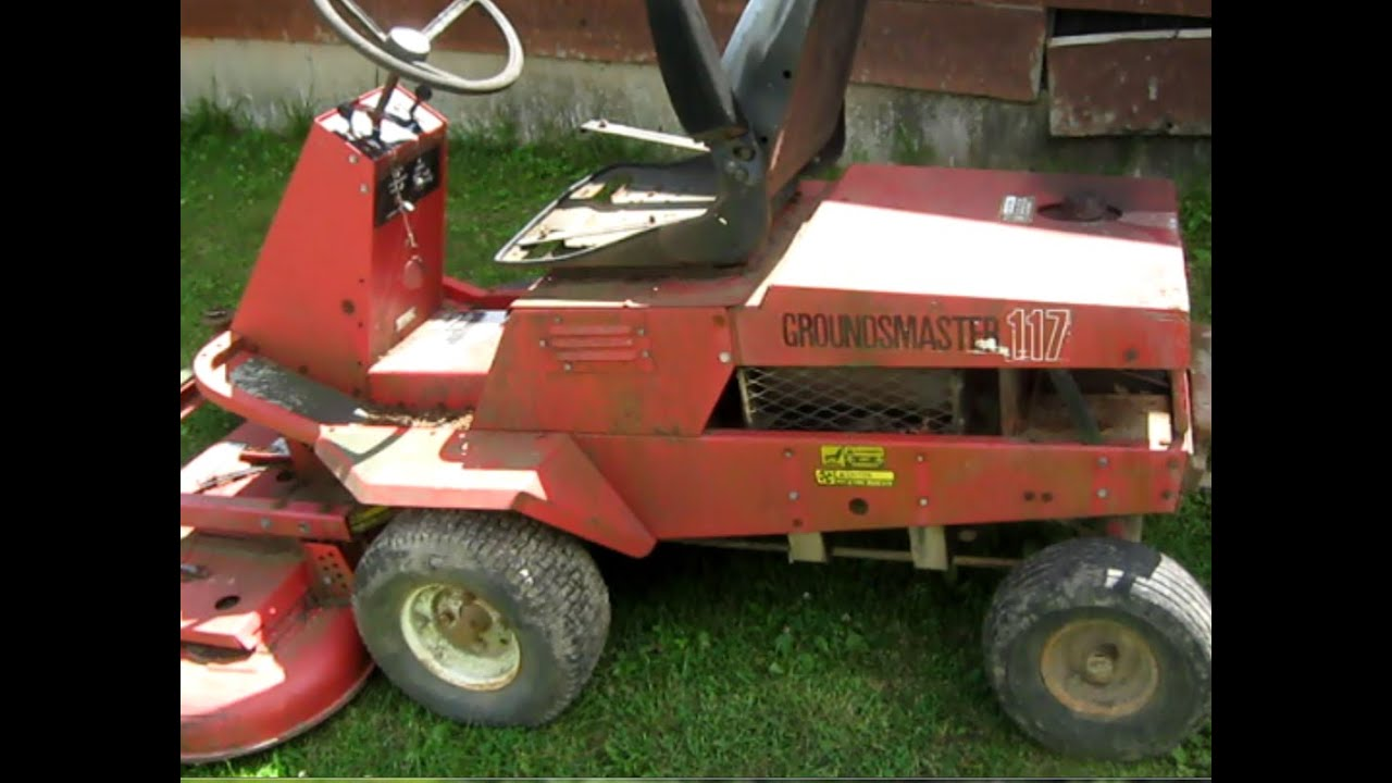 small resolution of toro groundsmaster 117