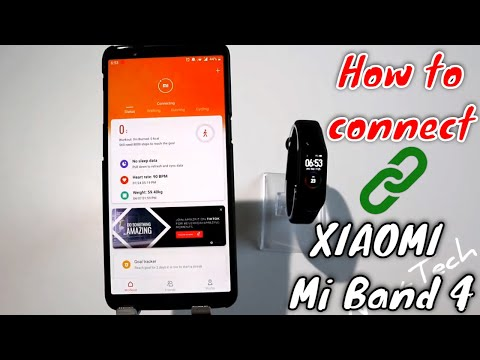 How to connect Xiaomi Mi Band 4 with phone MI Fit app Android phone Smart Watch