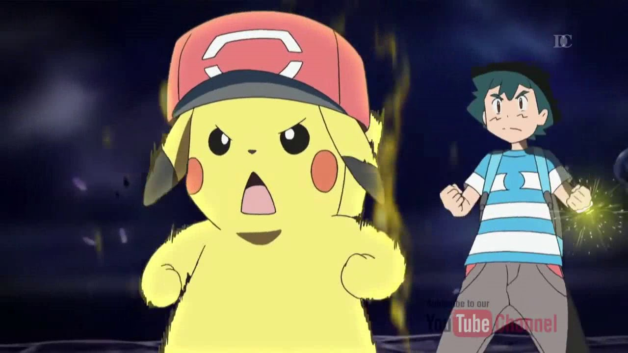 Ash And Pikachu Z Move 10 000 00 Volt Thunderbolt Youtube