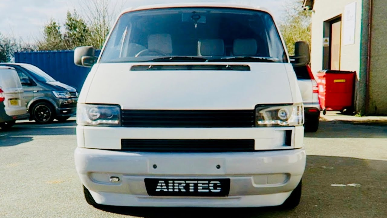 Vw T4 1 8t Airtec Install  Custom Vent  Gearbox Oil Change