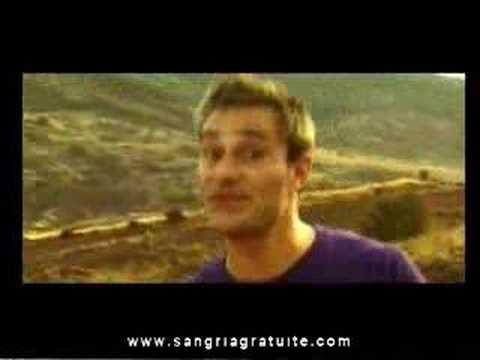 SANGRIA GRATUITE - Mon Accent - VIDEO CLIP OFFICIEL  Réa :T.SZCZEPANSKI