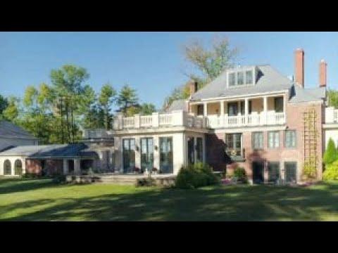 'Strange Inheritance': Couple inherits large mansion from France
