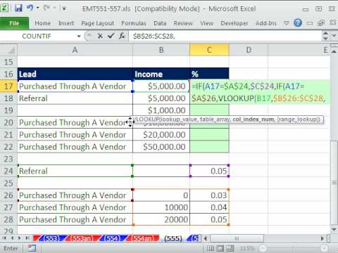 Excel Magic Trick 555 If Vlookup Formula For Two Distinct