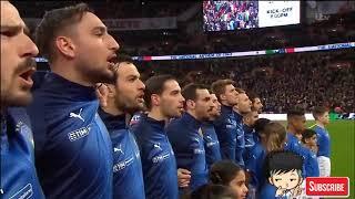 England vs Italy National Anthem