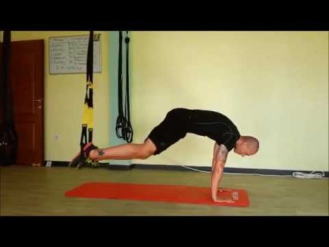 TRX Abs,Chest and Triceps