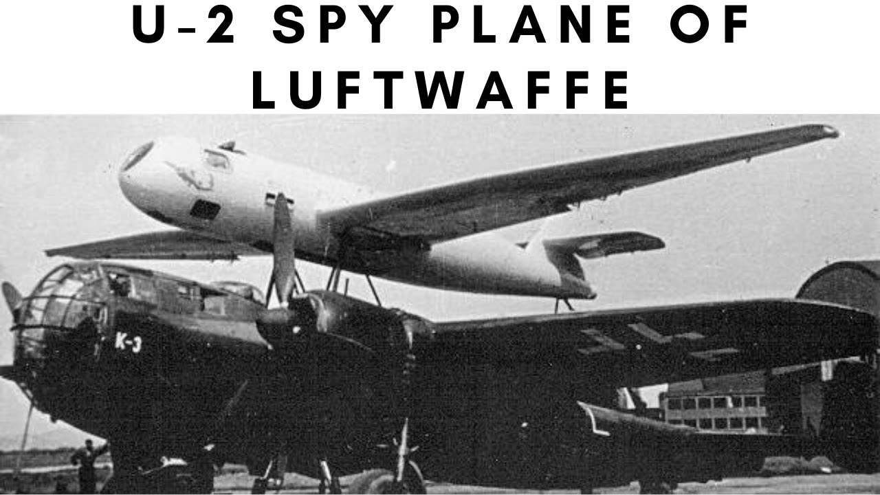 Download U-2 spy plane of Luftwaffe - DFS 228 (1940-1945)