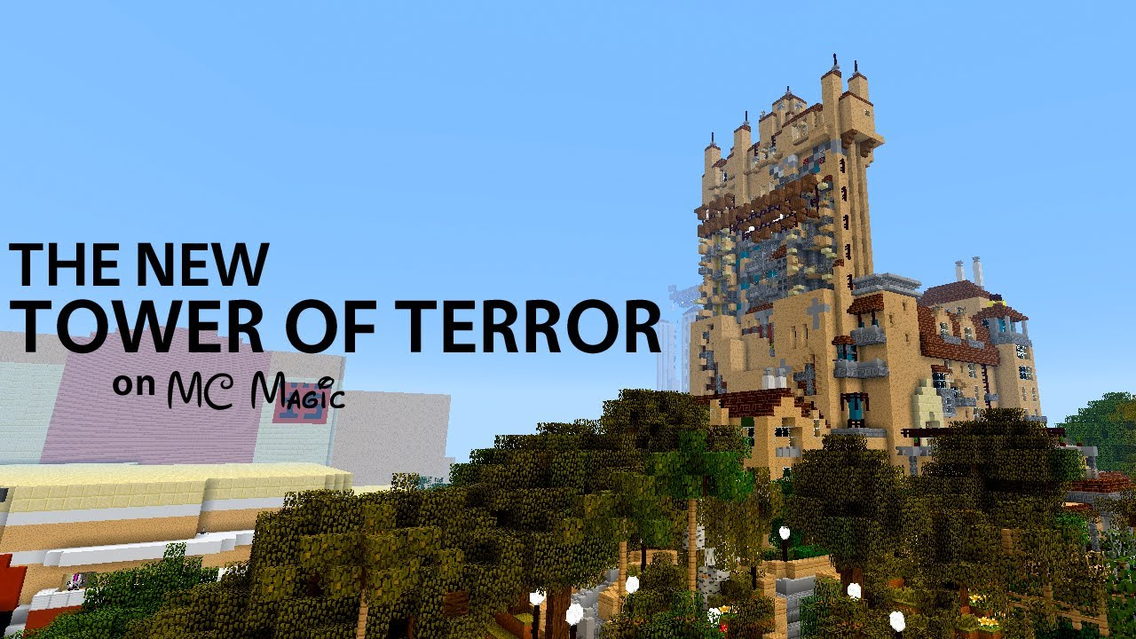 Mcmagic The New Tower Of Terror Youtube