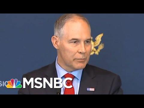 EPA Whistleblower On Scott Pruitt: 'A Bigger Swamp Creature' | All In | MSNBC