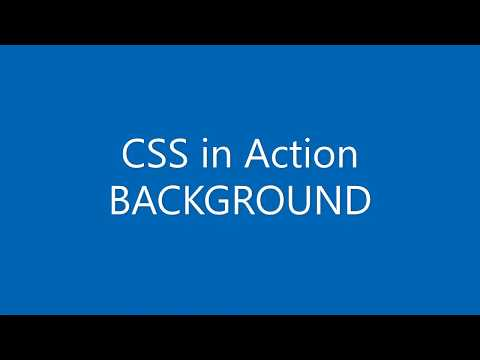 CSS in Action (Tutorial) - BACKGROUND thumbnail