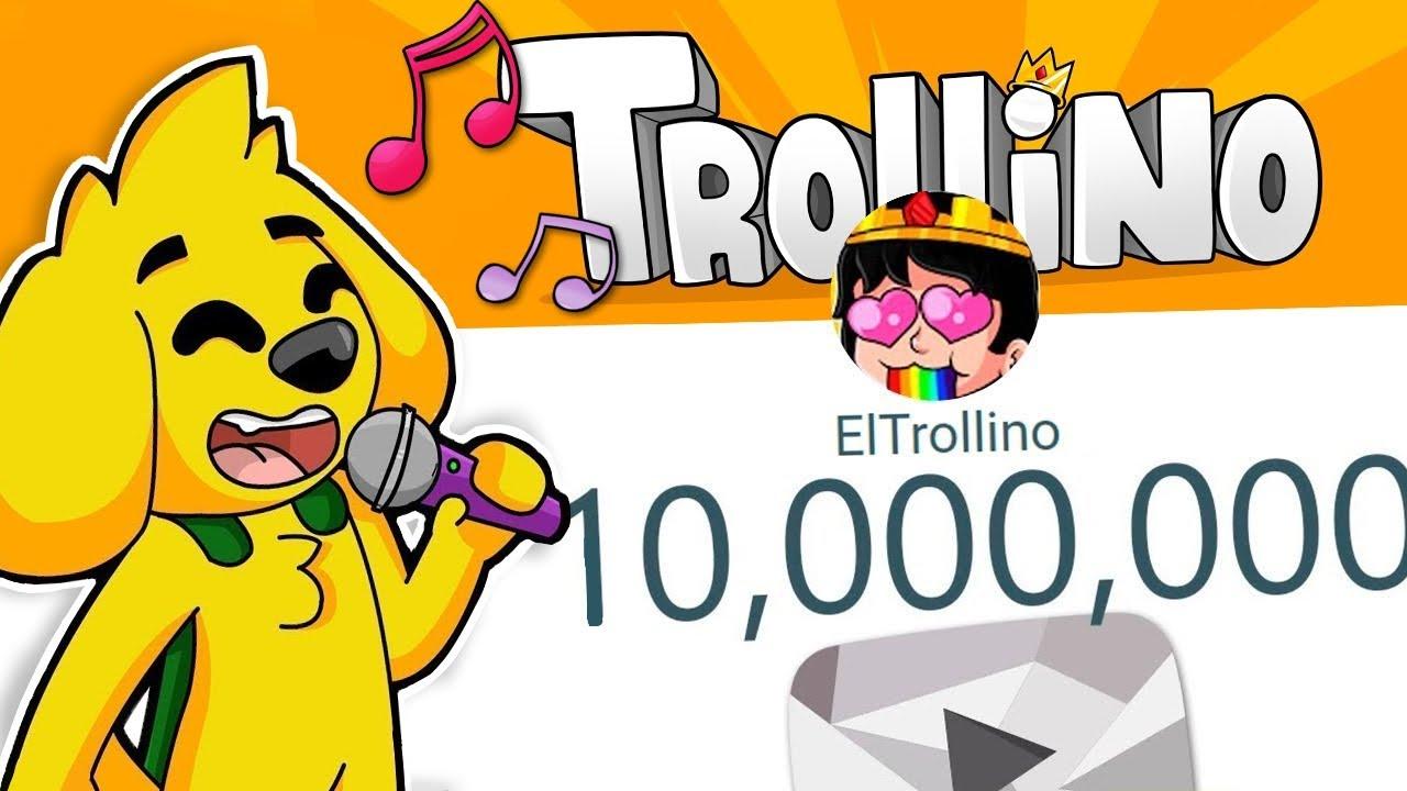 ¡MIKECRACK LE CANTA A TROLLINO EN DIRECTO POR LLEGAR A LOS 10 MILLONES! 😂🎶