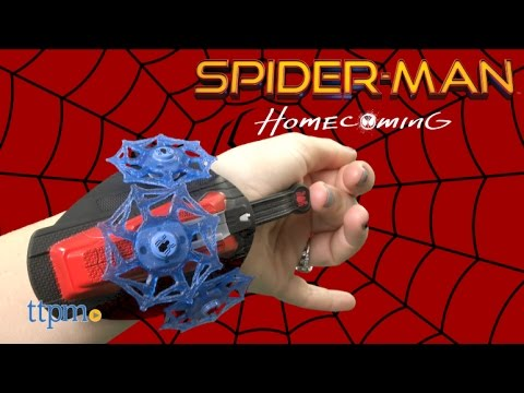 Marvel Spider-Man Homecoming Spinning Web Launcher Toy Review | Hasbro Toys & Games