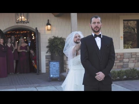 Aaron Michael - WATCH: Best man and bride team up to prank the groom!