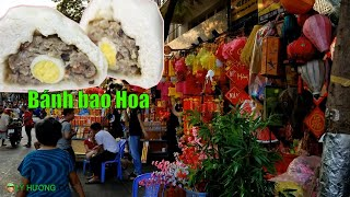 Phát hiện xe bánh bao gốc hoa ngon quá từ Chợ Lớn chạy qua Bến Bình Đông