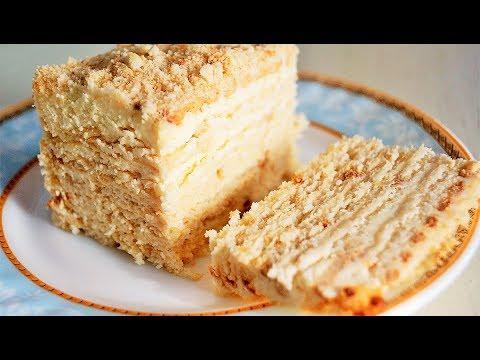 Рецепты простого торта без выпекания
