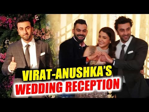Ranbir Kapoor At Virat-Anushka's Grand Wedding Reception In Mumbai