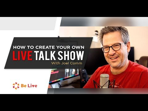 How to Create Your Own Facebook Live Talk Show with Belive TV