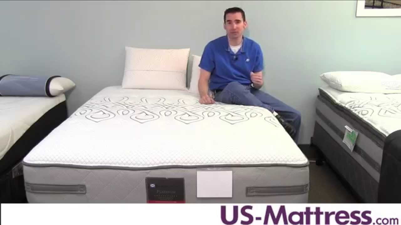 sealy posturepedic platinum courageous cushion firm mattress youtube