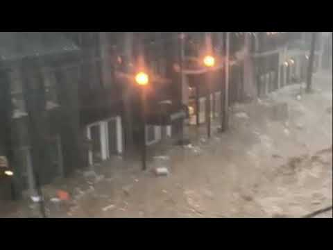Baltimore and Ellicott City Get Hammered by Flash Flooding