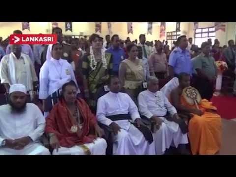 Insulting the national anthem of the clergy : Tamil boycott by the National Anthem In Vavuniya