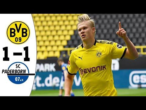 Borrusia Dortmund vs Paderborn 1-1 / All Goals & Extented Highlights 2020