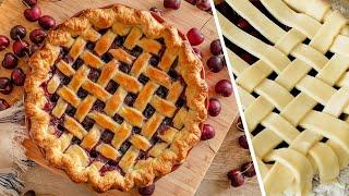 ЧЕРЕШНЕВЫЙ | ВИШНЕВЫЙ ПИРОГ 🍒 Летний Ягодный Пай с Вишней | Черешней 🍒 Десерт Тарт  | простой рецепт
