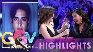 Ggv Nathalie And Roxanne Yell At Seeing James Reid 39 S Picture In Wititit Or Keriboomboom Game