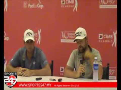 Gary Woodland and Ryan Moore press conference