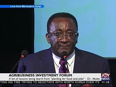 Agribusiness Investment Forum - News Desk on Joy News (3-10-17)