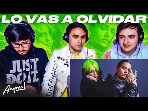 [Reacción] Billie Eilish, ROSALÍA – Lo Vas A Olvidar (Official Music Video) | ANYMAL LIVE 🔴
