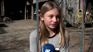 «Das Beste ist, dass ich auf einem Bauernhof wohnen darf»: Maria Lehmann, Schülerin, Suhr