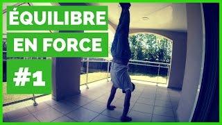 Projet Maîtrise de l'Equilibre en Force #1: la 1ère séance