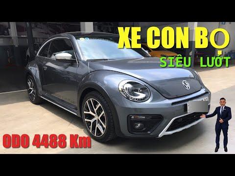[ Đánh Giá ] Xe Con Bọ Volkswagen Beetle Dune 2018 Qua Sử Dụng ODO 4488 Km Xe Siêu Đẹp !!