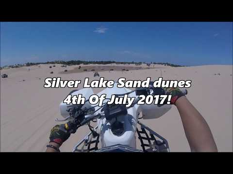 SILVER LAKE SAND DUNES 4TH OF JULY 2017!!