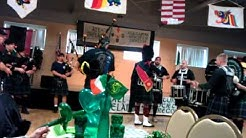 Tualatin Valley Fire & Rescue Pipes and Drums on St. Patrick's Day in Portland 8