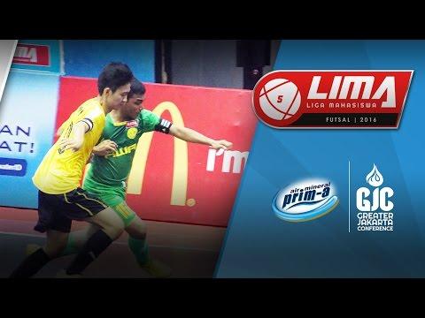 LIMA Futsal Air Mineral Prim-A GJC Season 4: UNJ vs IBS (Men's)