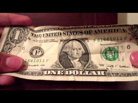 How to make a dollar ring easy!! Youtube.