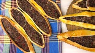 Пиде турецкая пицца түрік пиццасы казакша рецепт керемет дәмді тоқаш бәліш фарш