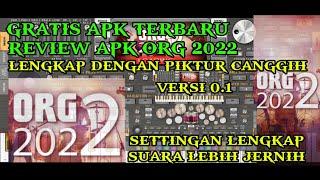REVIEW GRATIS APK TERBARU ORG 2022 VERSI 0.1 PICTURE CANGGIH REAL SUARA LEBIH JERNIH screenshot 1