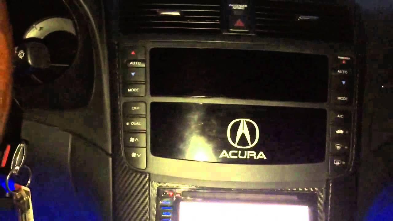 Acura TL With Kenwood Dnnhd Aftermarket Radio YouTube - Acura tl radio