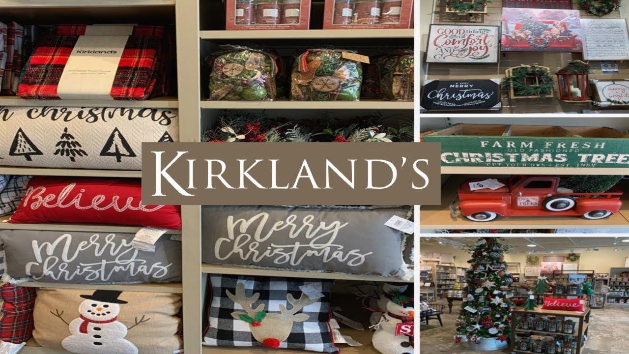 Kirkland S Christmas Decor 2020 Holiday Edition Youtube