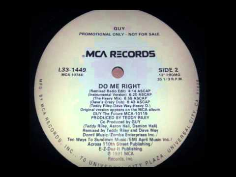 Guy - Do Me Right (Instrumental Version)