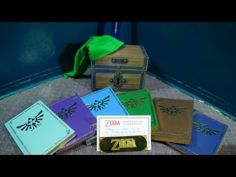 Zelda Guide Box Set Unboxing And Review