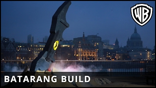 The LEGO® Batman™ Movie - Batarang Build in London - Warner Bros. UK