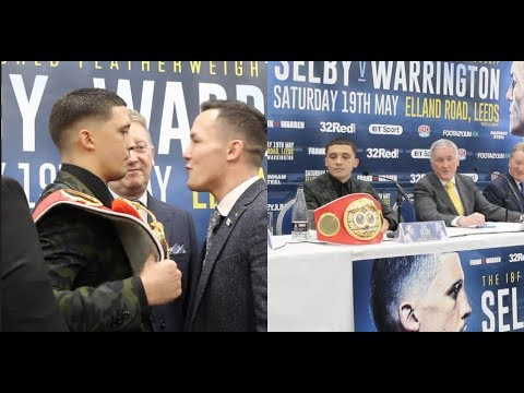 THE BEST OF THE INSULTS & BANTER FROM LEE SELBY v JOSH WARRINGTON LEEDS PRESS CONFERENCE
