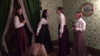 Little Women Act 1 Louisa May Alcott Adapted For Stage By Josh Hitchens 5 5 2016